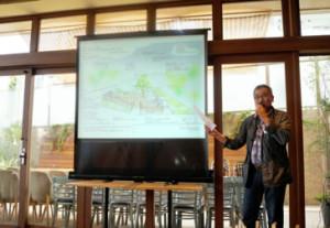 事前報告会の後に行われた懇親会では、市民創発プロジェクトのアイディアプレゼンも行われました。